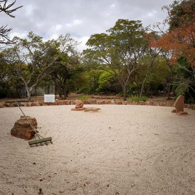 Margaret Roberts Herbal Centre - Sand Garden