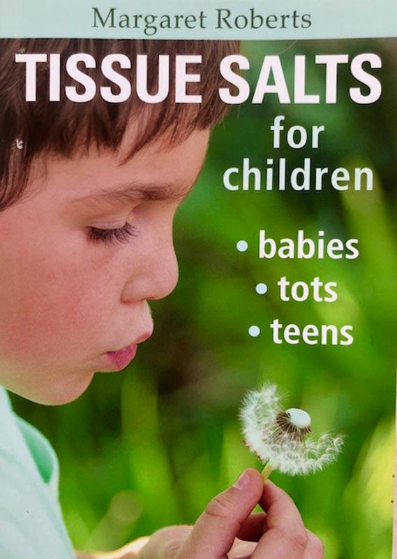 Margaret Roberts Book - Tissue Salts for Children