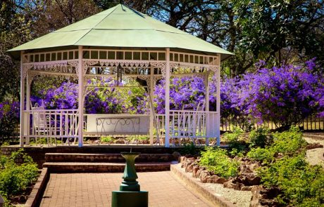 Margaret Roberts Herbal Centre - Rose Garden Canopy