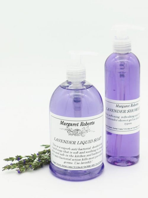 Lavender Liquid Soap and Shower Gel