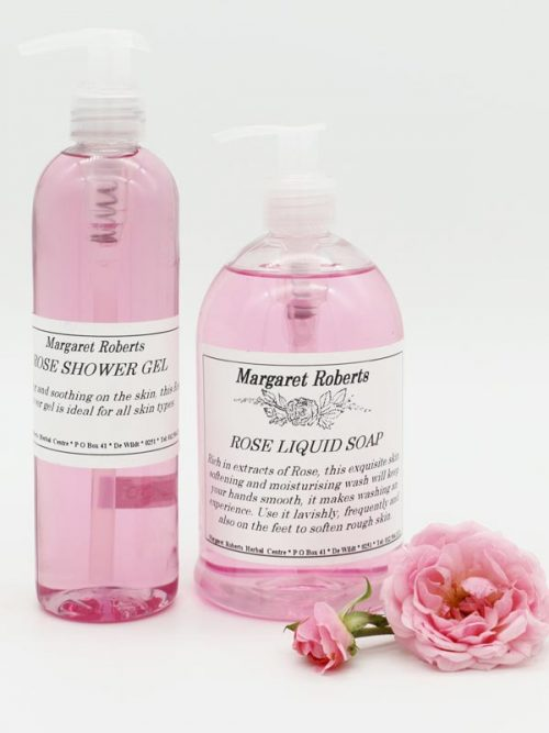 Margaret Roberts Rose Liquid Soap and Shower Gel