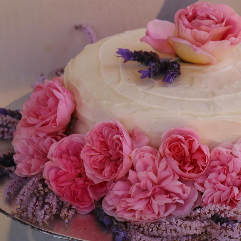 Margaret Roberts Herbal Centre - Rose Cake