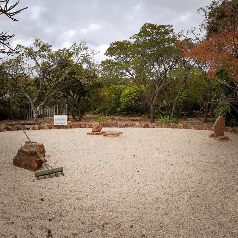 Margaret Roberts Herbal Centre - Sand Garden