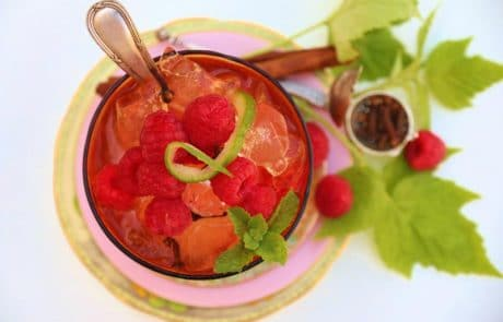 Margaret Roberts Herbal Centre - Raspberry iced tea