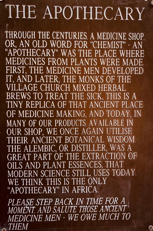 Margaret Roberts Herbal Centre - Apothecary