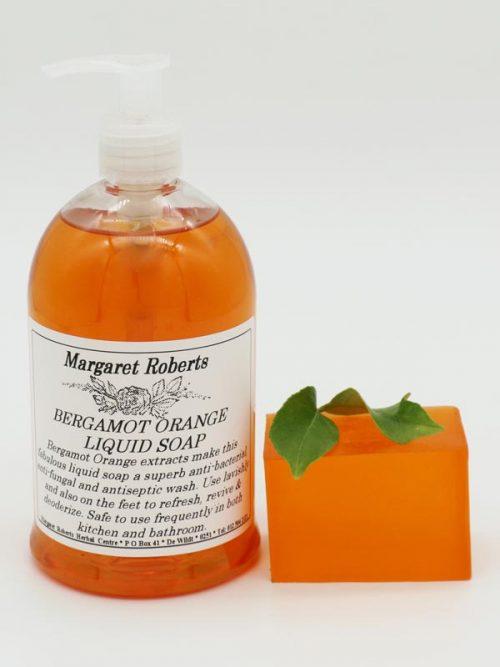 Margaret Roberts Herbal Centre - Bergamot Orange Liquid Soap and Soap