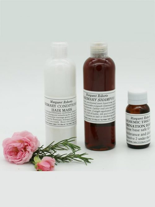 Margaret Roberts Herbal Centre - Rosemary Shampoo with Conditioner and Tissue Salts for Hair-loss