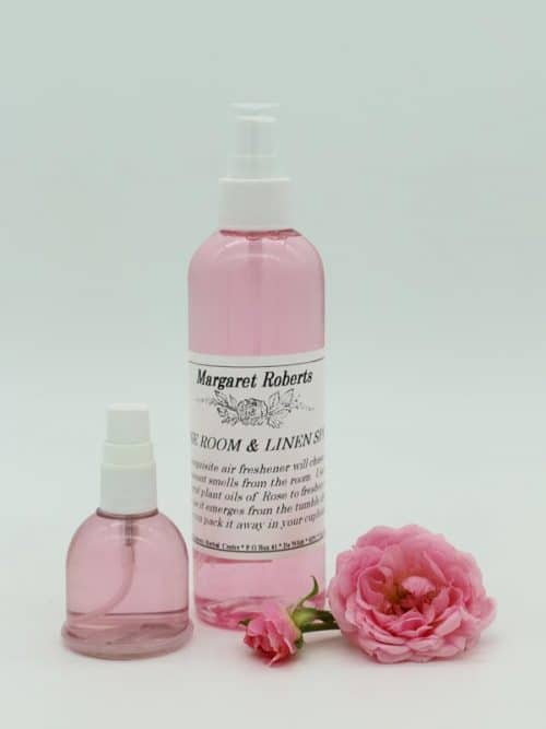 Margaret Roberts Rose Room and Linen Spray and Car Freshner