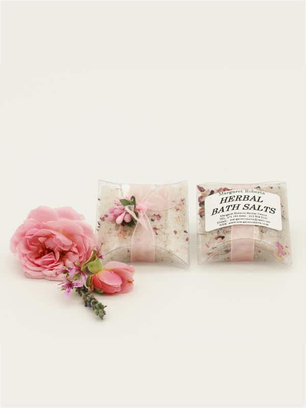 Margaret Roberts Rose Bath Salts 1 Bath Per Pack